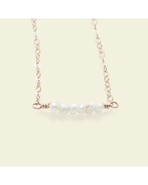 Erica Weiner - Natural Diamondz & Pearlz Bracelet (pearlz) - Lyst