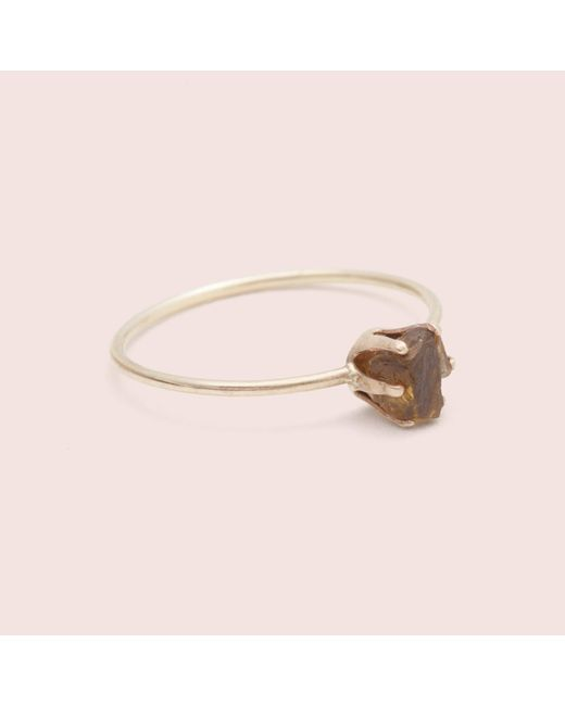 Erica Weiner | Pink Rough Gem Ring (garnet) | Lyst