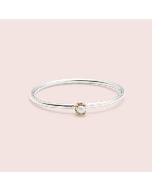 Erica Weiner | Metallic Diamondz & Pearlz Ring (pearlz) | Lyst