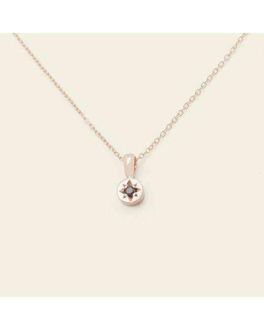 Erica Weiner - Metallic Gypsy Spark Necklace (14k Rose Gold) - Lyst