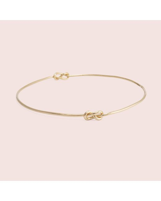 Erica Weiner   Metallic Infinity Knot Bracelet   Lyst