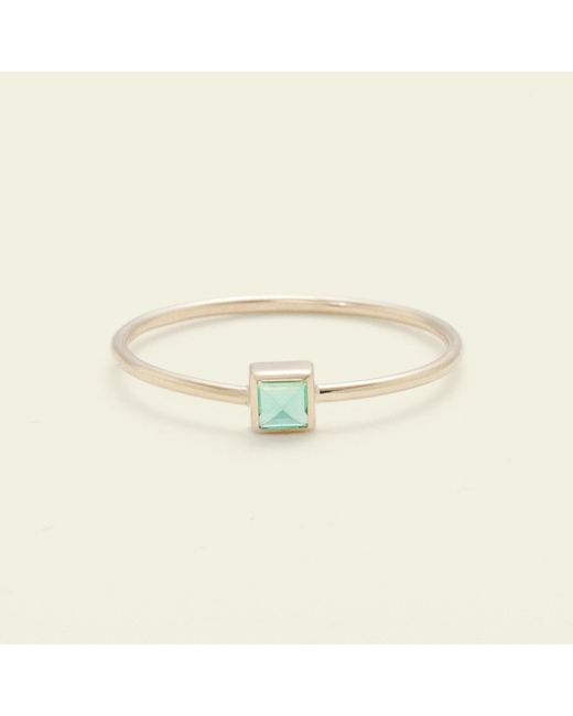 Erica Weiner | Green Pyramid Ring (emerald) | Lyst