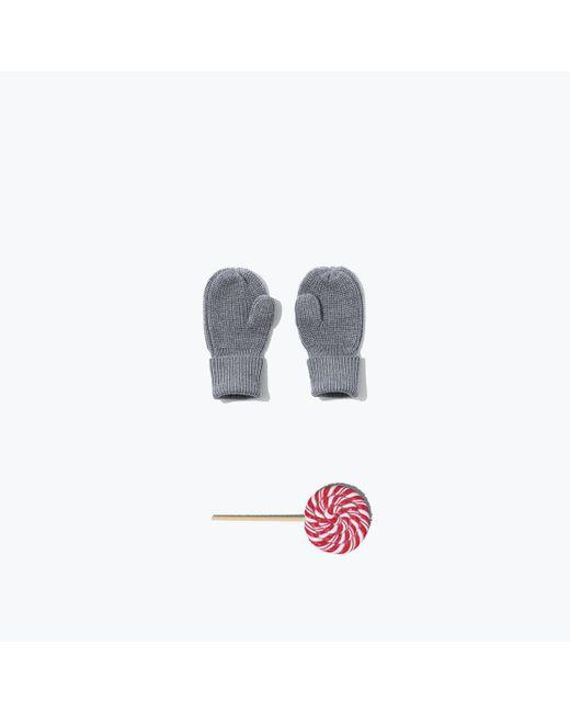 Everlane | Blue The Mini Chunky Knit Mitten | Lyst