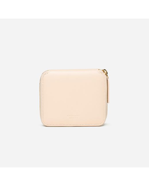 Everlane | Natural The Square Zip Wallet | Lyst