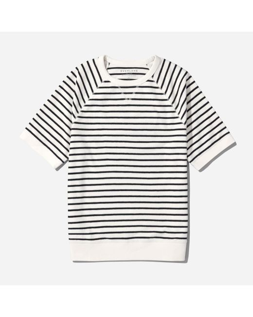Everlane | Multicolor The Reverse French Terry Sweat Tee for Men | Lyst