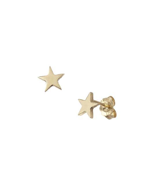 Winifred Grace | Metallic Star Studs | Lyst
