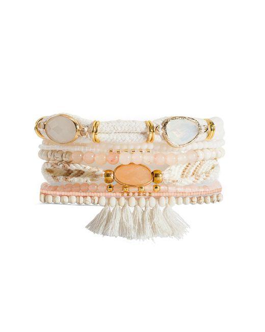 Hipanema | Metallic Pandore Cuff Bracelet | Lyst
