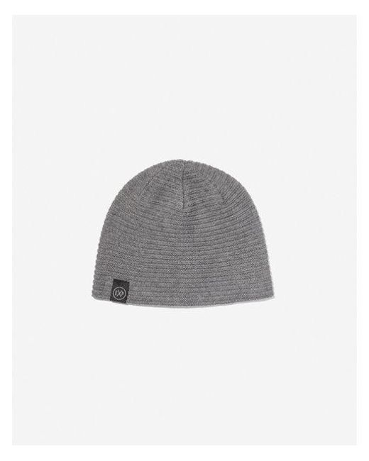 651ecbc266d Lyst - Express Solid Reversible Beanie in Gray for Men