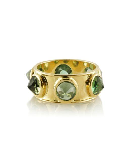 Emily & Ashley | Metallic Large Green Tourmaline Ring | Lyst