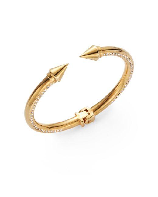 Vita Fede | Metallic Mini Titan Spike Surf Bracelet/goldtone | Lyst
