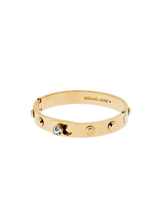 Michael Kors | Metallic Astor Gold-tone Bangle | Lyst
