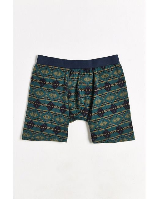 Urban Outfitters | Blue Blanket Printed Boxer Brief for Men | Lyst