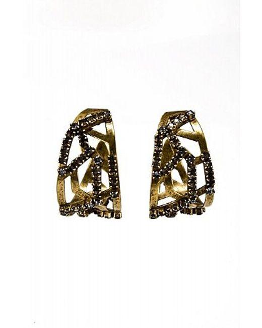Nicole Romano | Brown Circini Earrings | Lyst