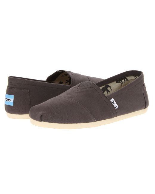 TOMS | Gray Classic Canvas for Men | Lyst