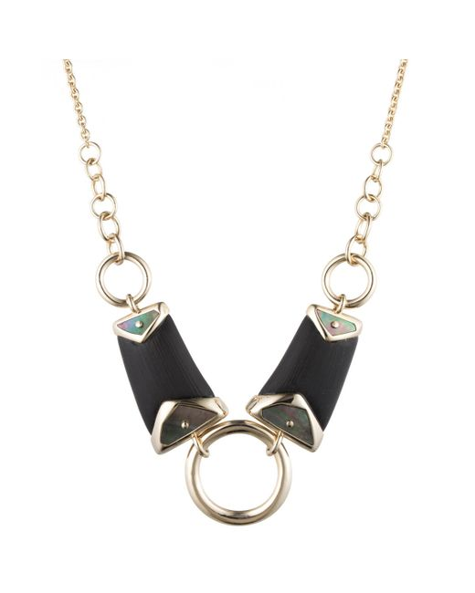 Alexis Bittar | Black Three Ringed Bib Necklace You Might Also Like | Lyst