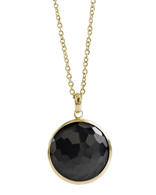 Ippolita | Black Onyx Lollipop-pendant Necklace | Lyst