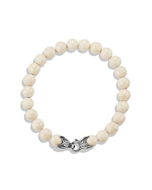 David Yurman | Metallic Spiritual Beads Bracelet With River Stone, 8mm for Men | Lyst