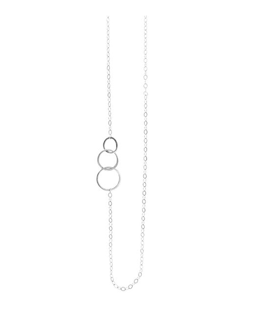 Melissa Joy Manning | Metallic Classic 3 Circle Chain Necklace | Lyst