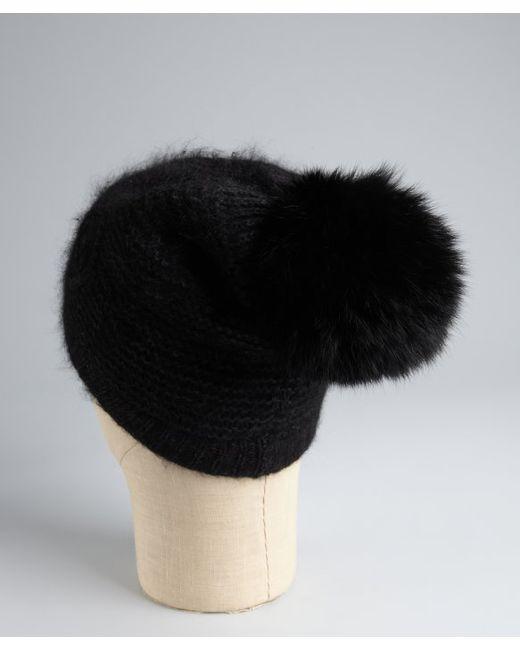 Surell | Black Mink Earmuffs | Lyst
