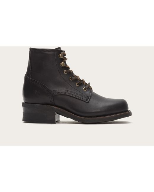 Frye | Black Engineer Lace Up | Lyst