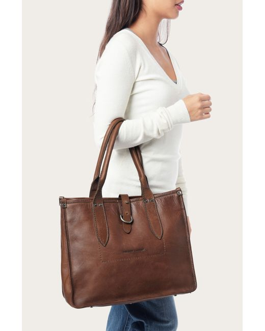 Frye | Brown Amy Shopper | Lyst