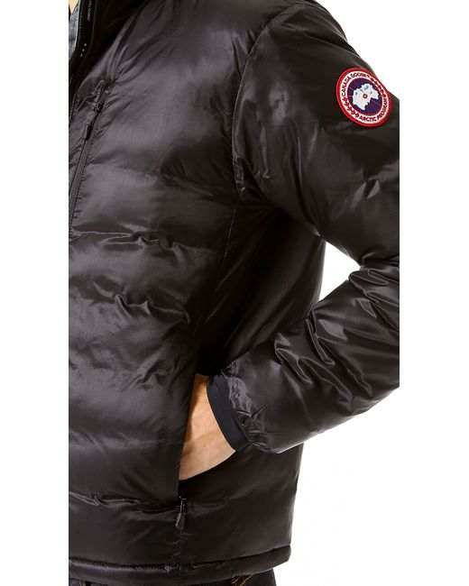 Canada Goose down sale authentic - Canada goose Lodge Jacket in Black for Men | Lyst