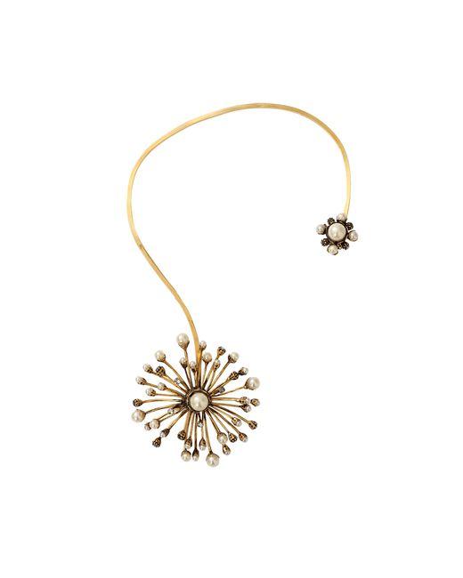 Erickson Beamon   Metallic Pearl Stratosphere Open Necklace   Lyst