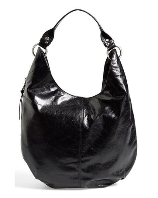 Hobo | Black 'gardner' Leather Shoulder Bag | Lyst