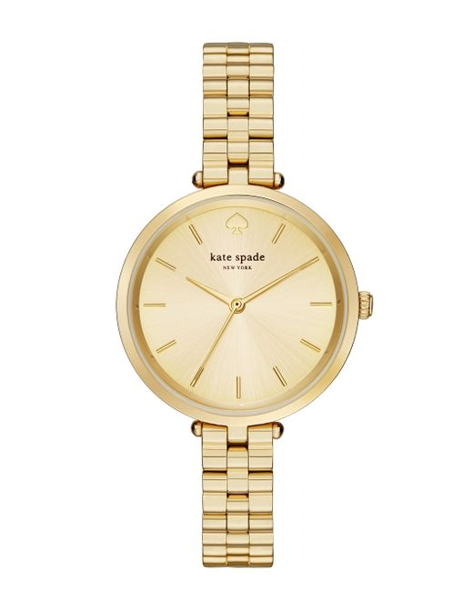 kate spade new york | Metallic Holland Skinny Bracelet Watch | Lyst