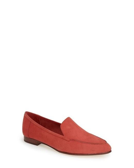 kate spade new york | Red 'carima' Loafer Flat | Lyst