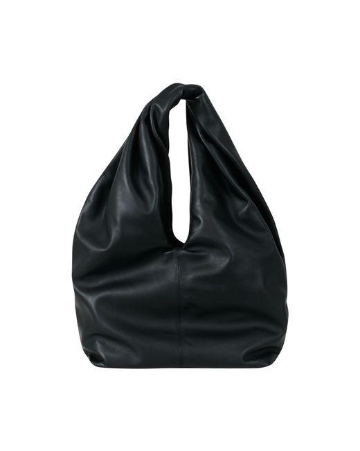 J.W.Anderson | Black Twist Leather Hobo Bag | Lyst
