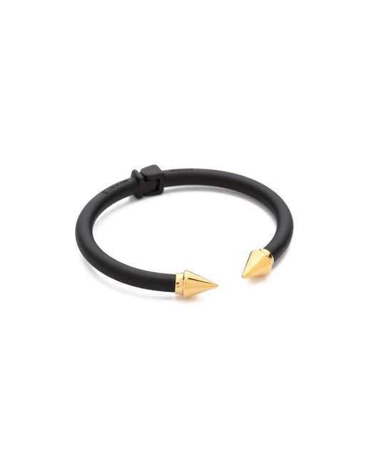 Vita Fede | Two Tone Mini Titan Bracelet: Black/Gold | Lyst