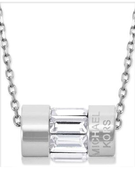 Michael Kors | Metallic Mkj4950040 Ladies Necklace | Lyst