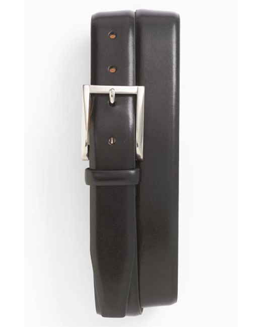 Trafalgar | Black 'broderick' Belt for Men | Lyst