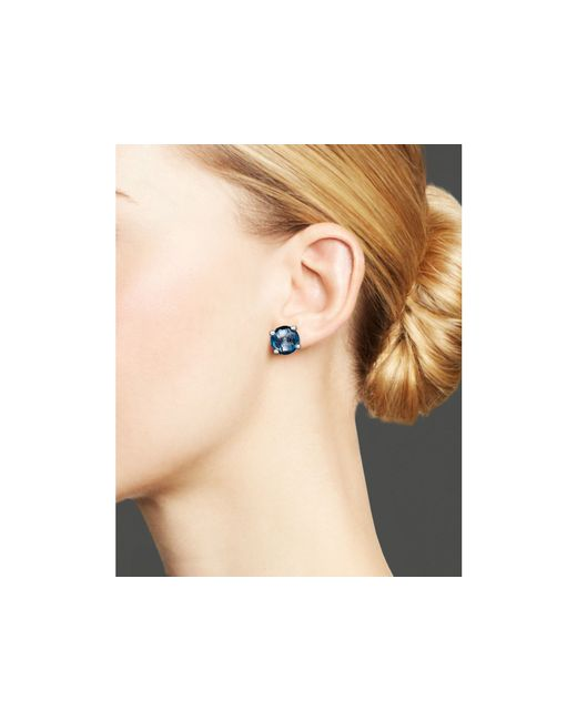 Ippolita | Rock Candy Sterling Silver Mini Stud Earrings With Blue Topaz | Lyst