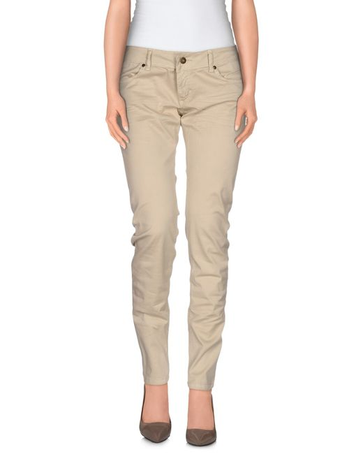 Ottod'Ame | Natural Casual Trouser | Lyst