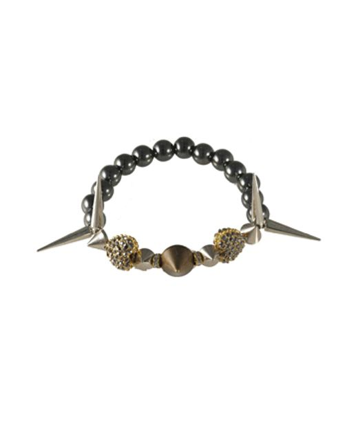 Electric Picks | Black 'heart Break' Bracelet | Lyst