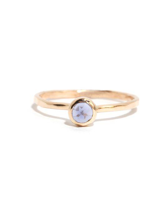 Melissa Joy Manning | Metallic Iolite Ring | Lyst