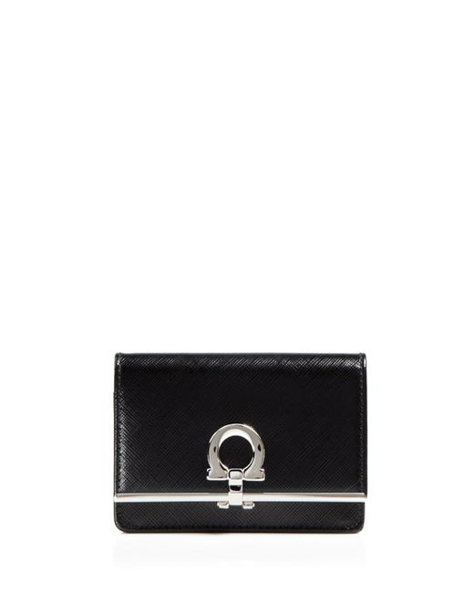Ferragamo | Black Card Case - Key | Lyst