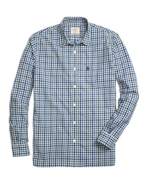Brooks Brothers | Blue Gingham Sport Shirt for Men | Lyst