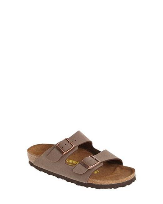 Birkenstock | Brown 'arizona' Birko-flor Sandal | Lyst
