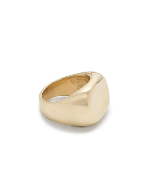 J.Crew | Metallic James Colarusso 14k Gold Small Concave Ring | Lyst