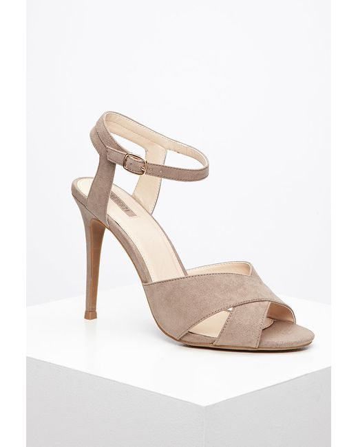 Forever 21 | Natural Ankle Strap Sandals | Lyst