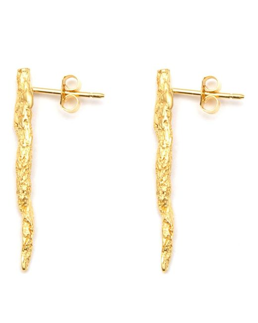 Niza Huang | Metallic Illusion Stick Earrings | Lyst