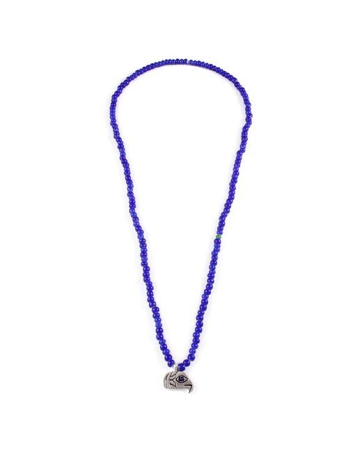 Lulu Frost | Blue George Frost G. Frost Beaded Eagle Eye Pendant for Men | Lyst