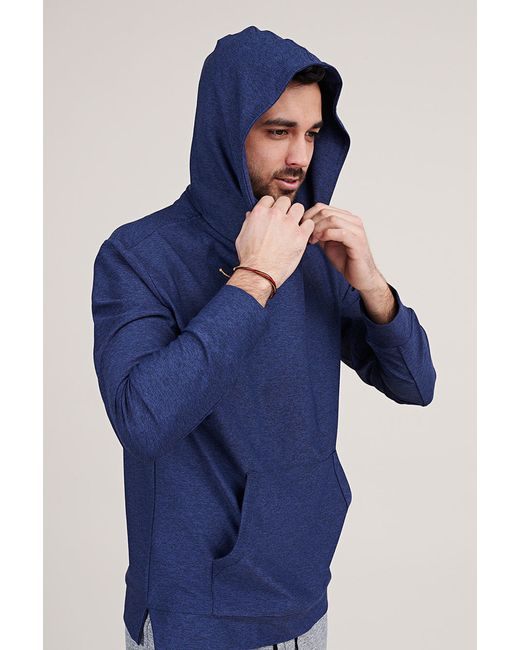 Outdoor voices upstate hoodie in blue for men lyst