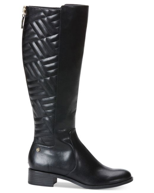 Amazing Find This Pin And More On Work Boots Calvin Klein Womens Cilil Boot, Black Leather, 9 M US Chunky Ankle Boot