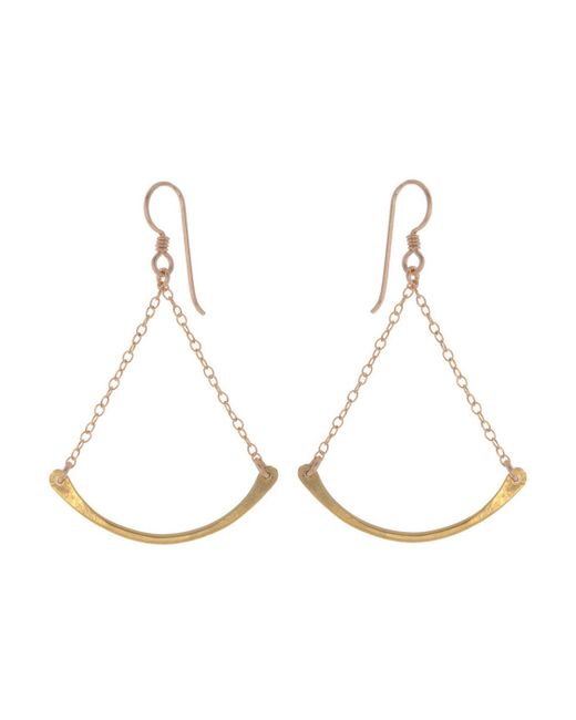 Marisa Mason | Metallic Idylwild Earrings | Lyst