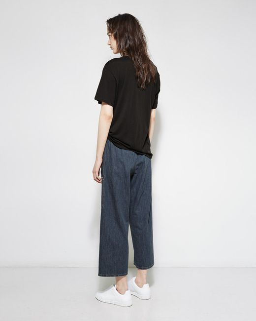 Mm6 by maison martin margiela Pull-on Denim Pant in Blue ...