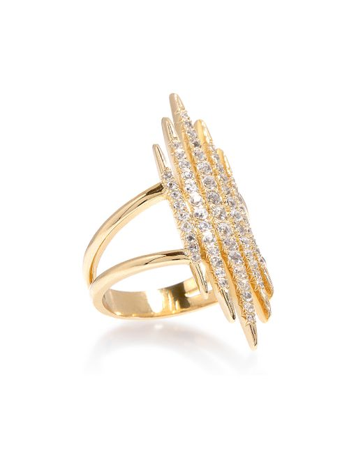 Elizabeth and James | Metallic Northern Star Tip Ring | Lyst